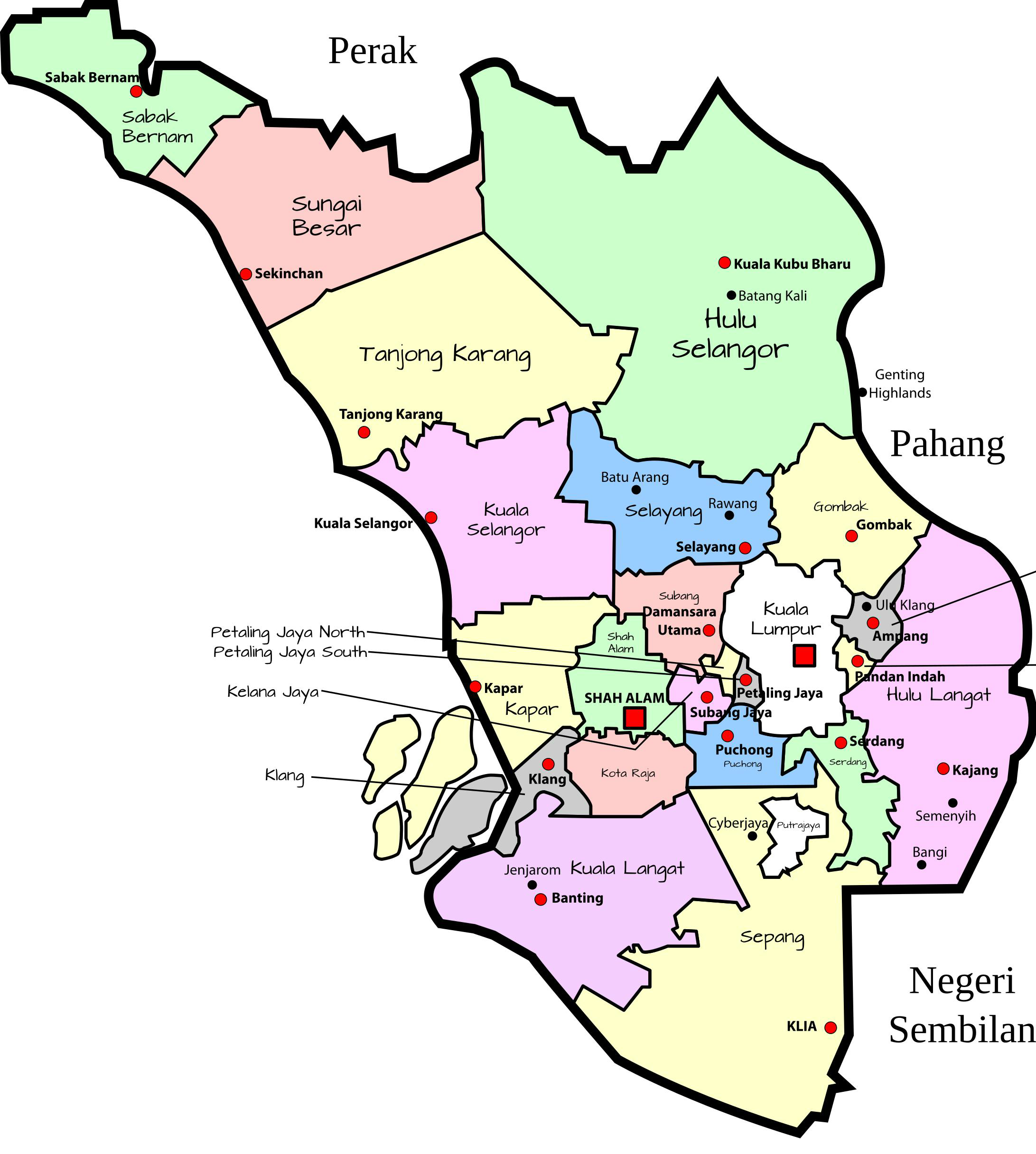 Map SELNGOR p1